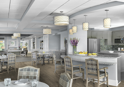 Drinkard Healthcare Center Diningan Kitchen